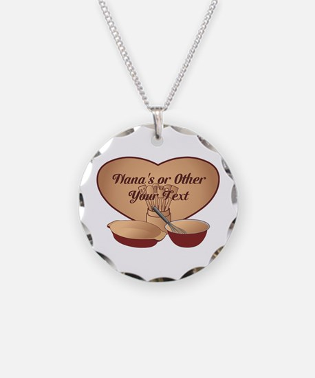 Personalized Cooking Necklace