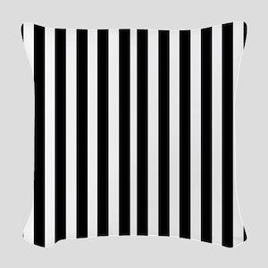 stripes Woven Throw Pillow