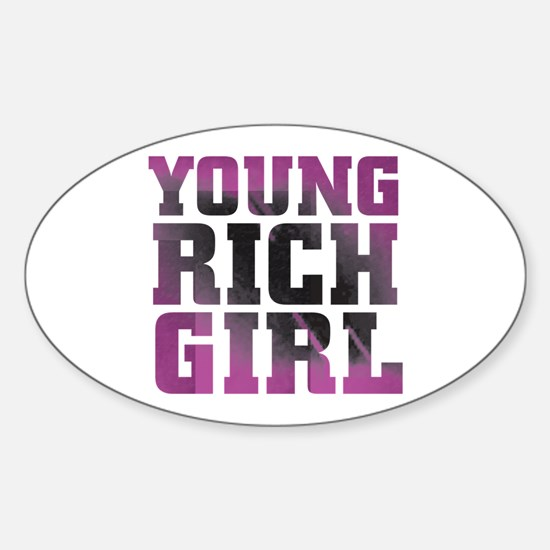 Pink Rich Girl Decal