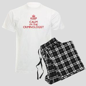 Keep calm I'm the Criminologi Men's Light Pajamas