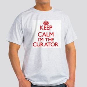Keep calm I'm the Curator T-Shirt