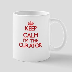 Keep calm I'm the Curator Mugs