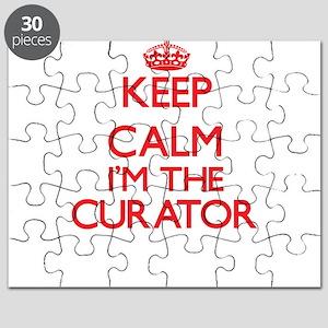 Keep calm I'm the Curator Puzzle