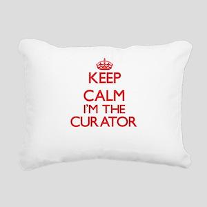 Keep calm I'm the Curato Rectangular Canvas Pillow