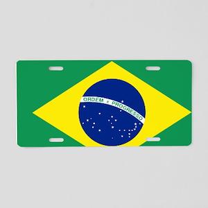 Bandeira do Brasil Aluminum License Plate