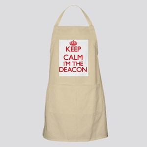 Keep calm I'm the Deacon Apron