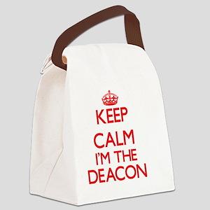 Keep calm I'm the Deacon Canvas Lunch Bag