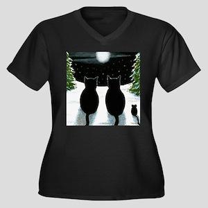 Cat 429 Plus Size T-Shirt