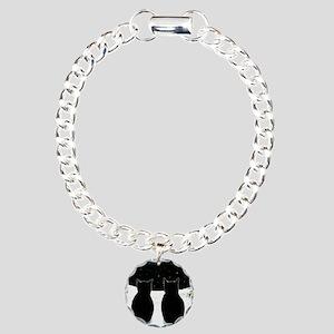 Cat 429 Charm Bracelet, One Charm