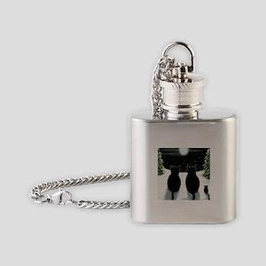 Cat 429 Flask Necklace