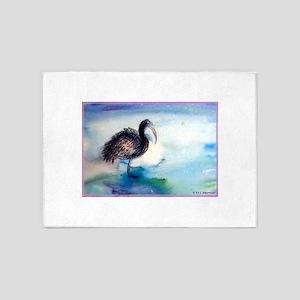 Ibis! Wildlife, bird, art! 5'x7'Area Rug