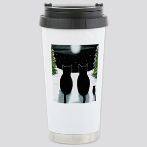 Cat 429 Stainless Steel Travel Mug