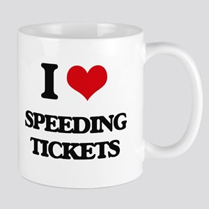 speeding tickets Mugs