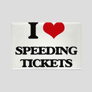 speeding tickets Magnets