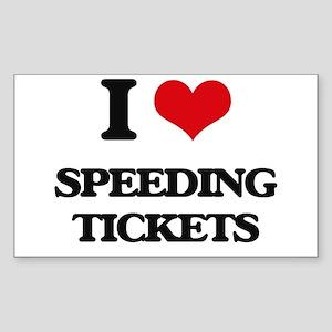 speeding tickets Sticker