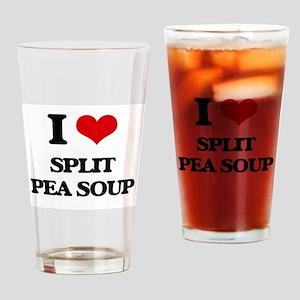 split pea soup Drinking Glass