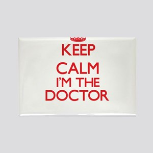 Keep calm I'm the Doctor Magnets