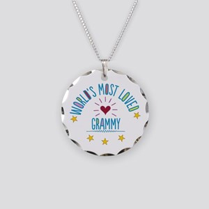 World's Most Loved Grammy Necklace Circle Charm
