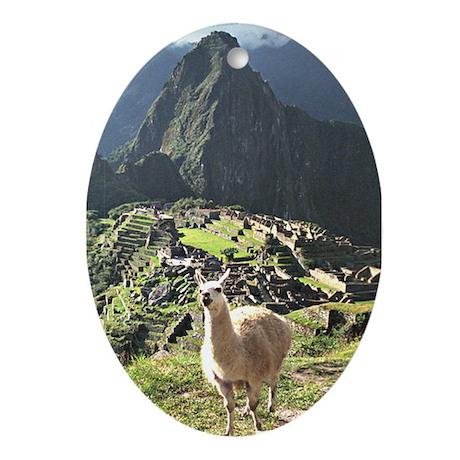 Souvenir of Peru Ceramic Ornament
