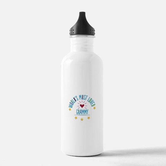 World's Most Loved Gra Water Bottle