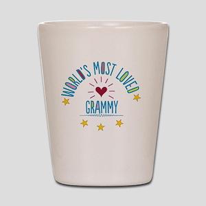 World's Most Loved Grammy Shot Glass