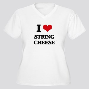 string cheese Plus Size T-Shirt