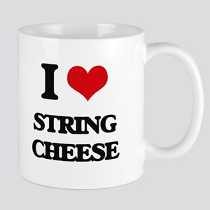 string cheese Mugs