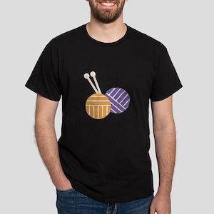 Yarn_Knit On T-Shirt