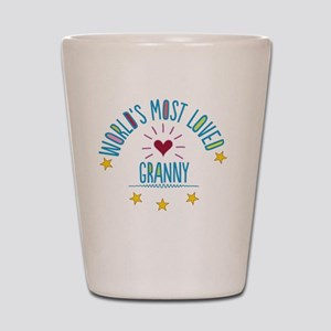 World's Most Loved Granny Shot Glass