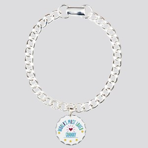 World's Most Loved Gran Charm Bracelet, One Charm