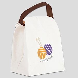 Yarn_Knitting Club Canvas Lunch Bag