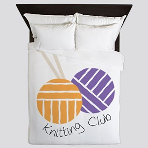 Yarn_Knitting Club Queen Duvet