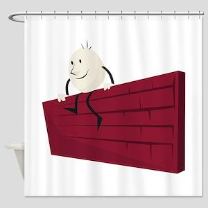 HumptyDumpty_Base Shower Curtain