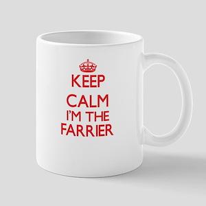 Keep calm I'm the Farrier Mugs