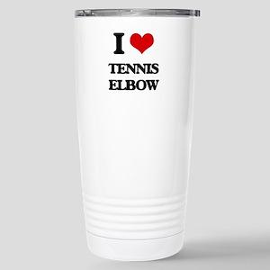tennis elbow Stainless Steel Travel Mug