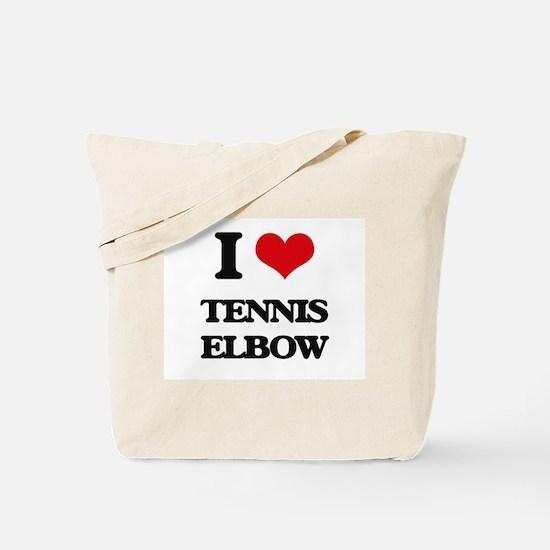 tennis elbow Tote Bag