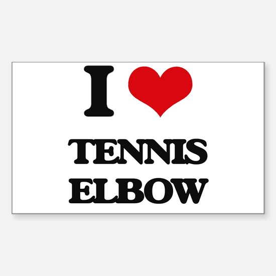tennis elbow Decal