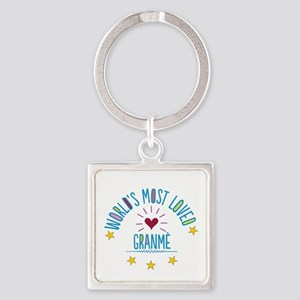 World's Most Loved Granme Keychains