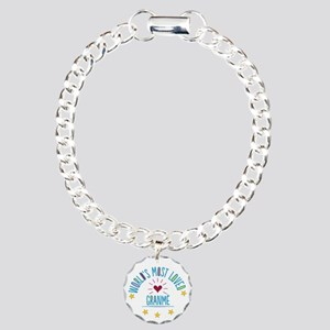 World's Most Loved Granm Charm Bracelet, One Charm