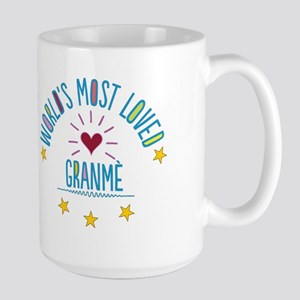 World's Most Loved Granme Mugs