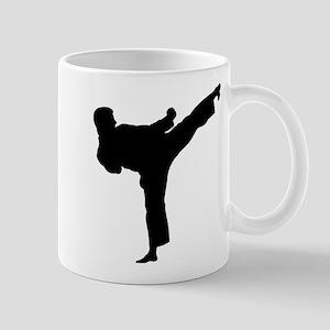 Karate Kicker 11 oz Ceramic Mug