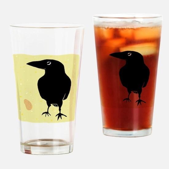 Funny Birders world Drinking Glass