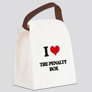 the penalty box Canvas Lunch Bag