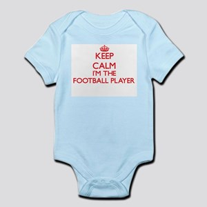 Keep calm I'm the Football Player Body Suit
