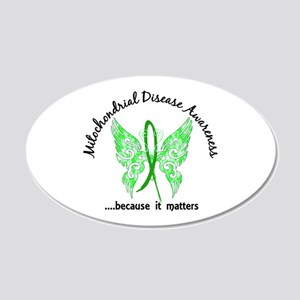 Mitochondrial Disease Butter 20x12 Oval Wall Decal