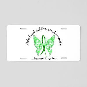 Mitochondrial Disease Butte Aluminum License Plate