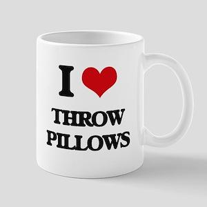 throw pillows Mugs