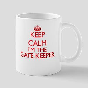 Keep calm I'm the Gate Keeper Mugs