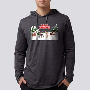 Merry Christmas Chihuahuas Long Sleeve T-Shirt