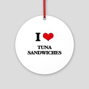 tuna sandwiches Ornament (Round)